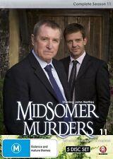Midsomer Murders: Complete Season 11 (Single Case Version) NEW R4 DVD