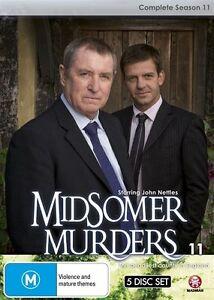Midsomer Murders COMPLETE Season 11 : NEW DVD