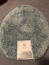 "WAMSUTTA PEWTER HYDRO COTTON ""TOILET SEAT COVER"" UNIVERSAL Bathroom Reversable"