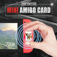 New 22 PCS Mini Version The Legend of Zelda Wolf Link 20 hearts NFC Tag Cards