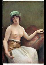 ART - PEINTURE / FEMME Nue par Mme SAIZEDE / SALON de PARIS début 1900