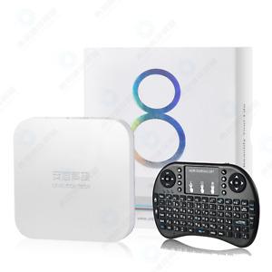 Unblock Tech 最新安博盒子8代 HOPE OVERSEAS美國行貨 UBOX8 PRO MAX 4g+64g OS Gen8 TV Box