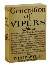GENERATION OF VIPERS by Philip Wylie ~ Advance Reading Copy 1942 ~ First Edition