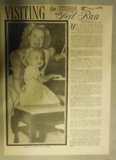 Visiting The Studios with Neil Rau: Featuring Alice Faye &  Daughter from 1940's