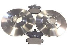MG TF / MGF BRAND NEW FRONT BRAKE DISCS AND BRAKE PADS