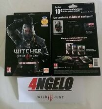!!DISPONIBLE!! Kit sorceleur The Witcher 3 Wild Hunt collector steelbook t shirt