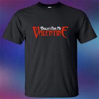 New Bullet For My Valentine Metal Rock Band Logo Men's Black T-Shirt Size S-3XL