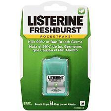 6 Pack - Listerine PocketPaks FreshBurst 24 Each