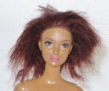 NUDE BARBIE 2000 11.5 Inches Red Hair Hazel Eyes Straight Leg Doll