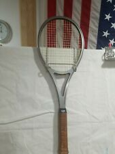 Vintage Amf Head Arthur Ashe Competition Edge Racquet With Cover Graphite Head