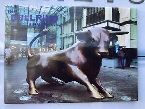 Birmingham Bullring Bull V1 - Souvenir Fridge Magnet