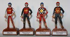 Ogni squadra Speedway gioco RIDER figura ogni anno e team. dipinto A MANO STATUINA IN METALLO