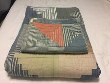 Ralph Lauren Patchwork Quilt Coverlet Twin Set