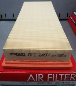 AIR FILTER UNIPART GFE 2497 FORD