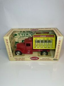 NRFB VINTAGE 2001 GEARBOX 1930s METALCRAFT REPRODUCTION COCA-COLA DELIVERY TRUCK