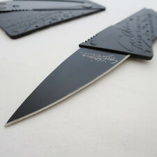 1pc Portable Outdoor Cardsharp Credit Card Safety Folding Knife Survival Tool