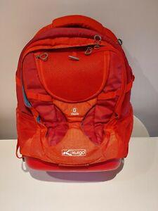 Kurgo G Train Dog Backpack Red