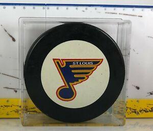 St. Louis Blues Puck 1990-912 era In Glasco