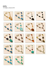 10pcs Wholesale Lot Silver Overlay Turquoise Mix Gemstone Necklace Jewelry