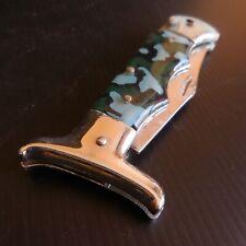Couteau poche pliant  STAINLESS CHINA acier art déco table chasse maison N5038
