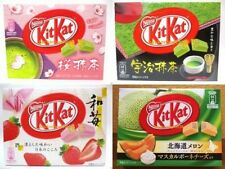 Nestle Kit Kat Chocolate 4 set Sakura Green Tea Matcha Strawberry Melon JAPAN