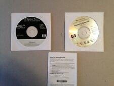 2002 HP Workstations Operating System CD dc7100 W2K/SP2 AND Restore Plus CD