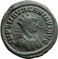 CARINUS Authentic Ancient 284AD Rome Genuine Original Roman Coin FIDES i79271