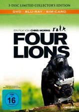 FOUR LIONS-LIMITED EDITION - MORRIS,CHRISTOPHER  3 BLU-RAY NEU