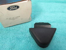 1974-76 FORD GALAXIE MUSTANG  BLACK  FRONT SEAT BELT COVER BOOT  NOS FORD  218
