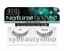 10 Pairs Ardell Natural 109 Fashion Lash Fake Eyelashes Black