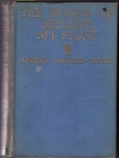 """SIGNED CARRIE JACOBS-BOND (Singer) """"Roads..Melody, My Story"""" 1st Ed-PHOTOGRAPHS"""