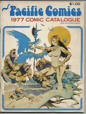 Pacific Comics 1977 Comic Catalogue Frazetta Cover