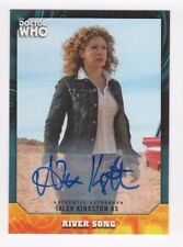2017 Doctor Who Signature Series autograph Alex Kingston green 01/50 FIRST