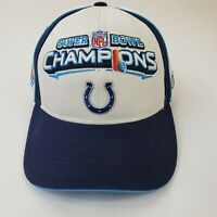 Reebok Super Bowl Colts XLI Hat Cap Adjustable Strap Back NFL Football Manning