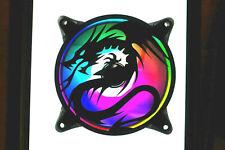More details for dragon fan grill cover shroud custom gamer 120mm uk