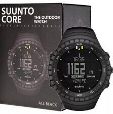 Suunto Core Tutti Nero Militare Outdoor Sports Watch Nuovo di Zecca SS014279010