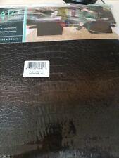 Smart Seat Folding Storage Ottoman - NEW Black
