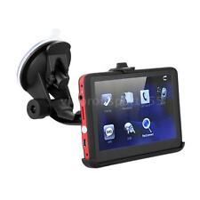 "5"" HD Touch Portable Car GPS Navigation 128MB 4GB FM Video Play Navigator L8O7"