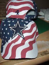 Dak Prescott personalized #4 Dallas Cowboys America's Team  Hat - New!