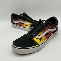 Vans Old Skool Flames Low Top Sneakers Mens Size 9 Womens Size 10.5 Lace Up Shoe
