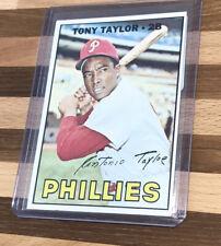 1967 Topps Tony Taylor Phillies #126 VG
