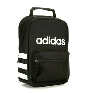 Adidas Unisex Santiago Insulated Lunch Bag Black / White – Perfect Gift bag