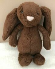 Jellycat Small Bashful Chocolate Bunny Rabbit Soft Toy
