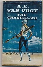 A.E Van Vogt The Changeling 1977 Space Babe   Vintage Paperback Science Fiction