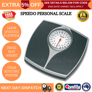 Salter Bathroom Scales Personal Speedo Dial Body Weight Huge Analogue Mechanical