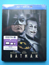 Batman Steelbook Bluray French Edition *New and Sealed*