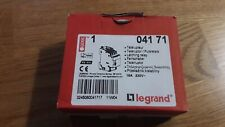 1 Télérupteur modulaire tétrapolaire LEGRAND 04171