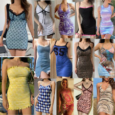 Womens Summer Casual Mini Dress Party Cocktail Holiday Beach Dress Sundress UK