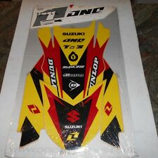 c22e2734aed4a7 SUZUKI RM125 RM250 2001/2004 ONE INDUSTRIES DELTA GRAPHIC TRIM KIT  64013-054-