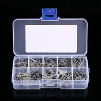 200Pcs 10 Value Rectifier Diode Schottky 1N4001-1N5819 Assortment Kit with Box